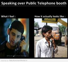 Speaking Over Public Telephone Booth Fb Pic