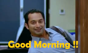 Fahad Fazil Good Morning Fb Comment Pic
