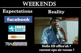 Weekends Funny Comment Pic In Fb