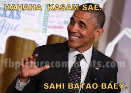 Ha Ha Ha Kasam Sai fb comment pic