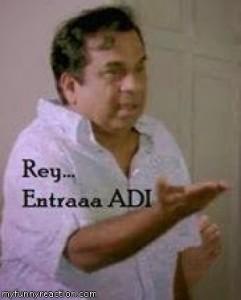 Brahmanandam Rey Entraa Adi fb comment pic