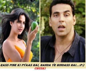 Meet Mango Lover Akshay Funny comment pic