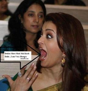 Funny Face Reaction Of Aishwariya Rai