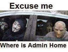 Excuse Me Where Is Admin Home Fb Pic