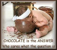 Chocolate Is The Answer Fb Funny Pic