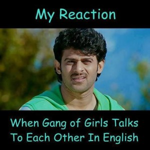 Prabhas My Reaction Fb Comment Pic