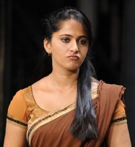 Actress Anuskha's Funny Face Photo Pic