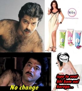 Veet Facebook Funny Photo Comment