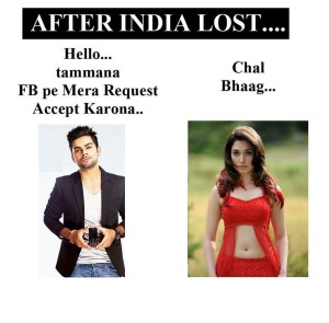 After India Lost Funny Comment Pictures
