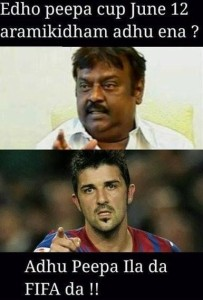 Vijayakanth Funny Comment Pic