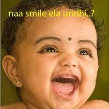 Baby Naa Smile Ela Undhi...?