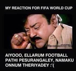 Foot Ball Fifa Tamil Memes Funny Pic