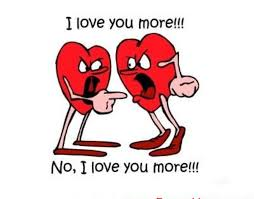 Love You More English Funny Photo Pic