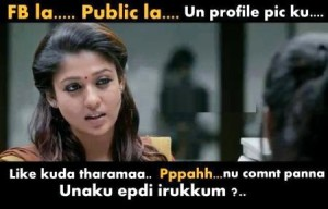 Actress Funny Dialogue Comment Picture