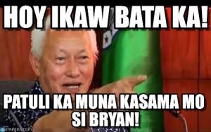 Hoy Ikaw Bata Ka!, Patuli Ka Muna Kasama Mo Si Bryan!