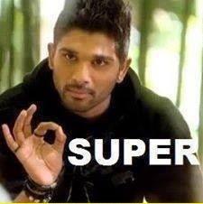Allu Arjun Says Super Fb Photo Comment Pic