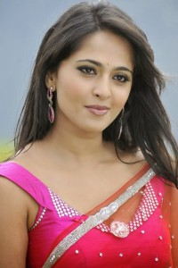 Actress Anushka In Saree Photos Stills Fb Pic