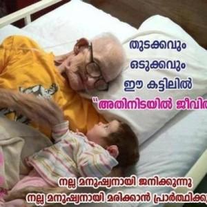 Jeevithathinde Sathyam Malayalam Comment Pic