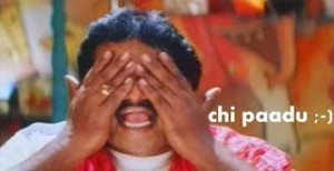Chi Paadu Telugu Comment Pic