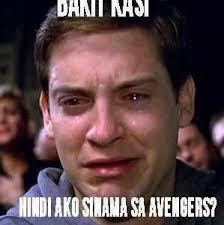 Dani Nasi Hindi Ako Sinama Sa Avengers Fb Comment Pic