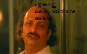 Entha Ee Kopraayathinte Artham Malayalam Facebook Comments