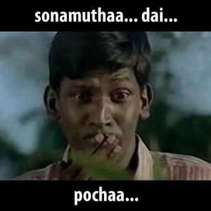 Vadivelu Sonamutha Dai Pochaa Fb Comment Pic