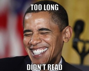Barack Obama Too Long Didn't Read Fb Photo Comments