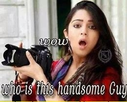 Charmi Wow Who Is This Handsome Guy Fb Comment Pic
