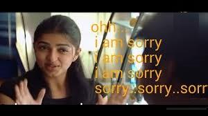 Bhumika Ohh I Am Sorry I Am Sorry Fb Comment Pic