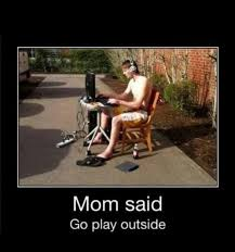 Mom Said Go Play Outside Fb Comment Pic