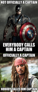 Funny Captain America Sparrow Jack Comment Pic