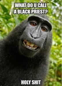 What Do U Call A Black Priest Fb Photo Pic