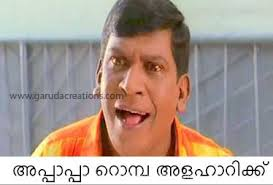 Vadivelu Funny Facebook photo comments In Malayalam