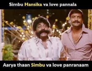 Simbu Hansika Va Love Pannala Fb Comedy Comment Pic