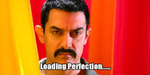 Loading Perfection Aamir Khan Funny Photo Pic