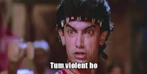 Tum Violent Ho Picture Comment