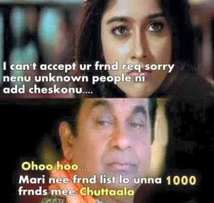 Brahmanandam Funny Dialogue Comment Pic