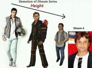 Demotion Of Dhoom Series Comedy Photo Pic