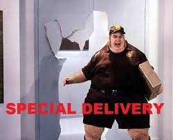Special Delivery Funny Photo Pic