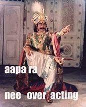 Aapa Ra Ne Over Acting