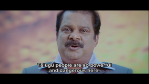 Telugu People Are So Powerful And Dangerous Here
