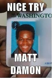 Nice Try Matt Damon Photo Comment