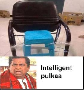Brahmanandam Intelligent Pulkaa