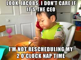 Look Jacobs I Don't Care If It's The Ceo