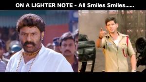 Balayya vs Mahesh Babu Funny Photo