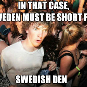 Swedish Den Funny Comment Image