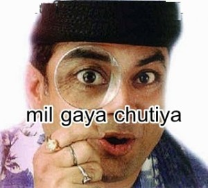 Mil Gaya Chutiya Funny Photo Pic