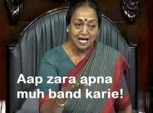 Aap Zara Apna Muh Band Karie!