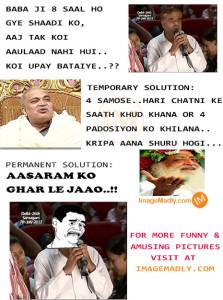 Asaram Nirmal Darbaar Joke Pic