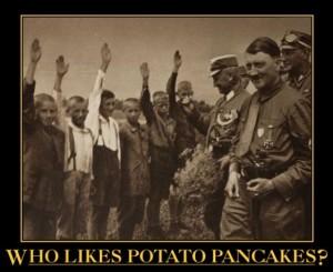 Who Likes Potato Pancakes?